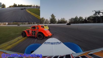 IN-CAR | Matt Haufe #7 Legend Car Feature – Sauble Speedway