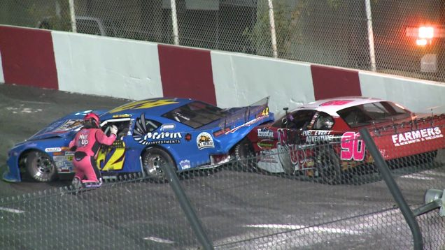 LATE MODEL | Madera Speedway Wreck And Fight
