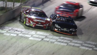 SUPER LATE MODEL | Final Five Laps At Slinger Super Speedway
