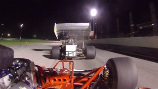 SUPER MODIFIEDS | Riding With AJ Lesiecki At Lorain County Speedway